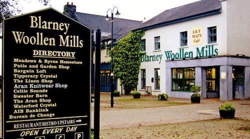 Cork Tours - Blarney Woolen Mills
